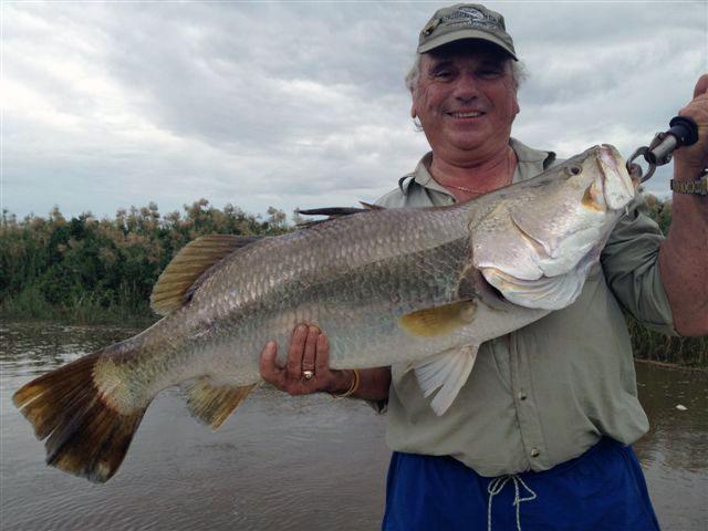 Bruce Cohen 101cm Barramundi Daly River Northern Territory