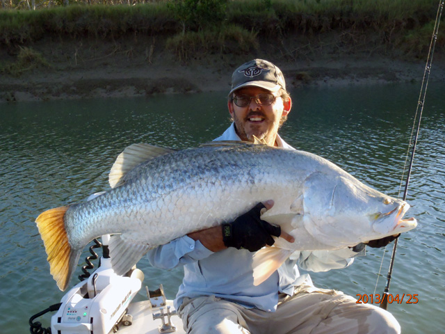 Keith Griffiths 123cm barramundi