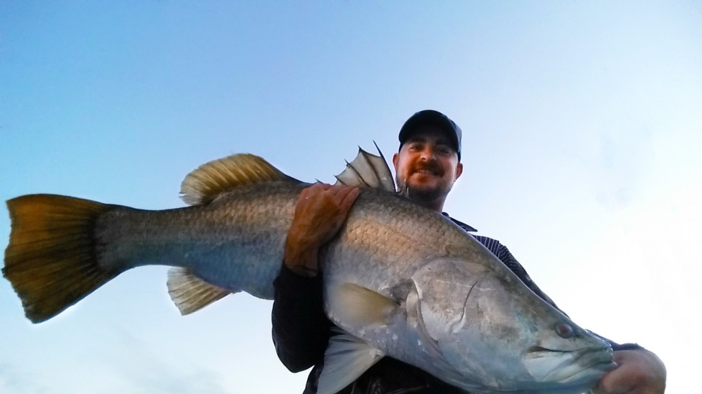 108CM Barramundi, Gladstone, Chris Long