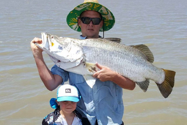 Adrian Wynne, 122cm Conway Beach Queensland 21/08/2016