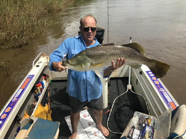 David Bax, 100cm Daly River, Northern Territory 15/01/2017