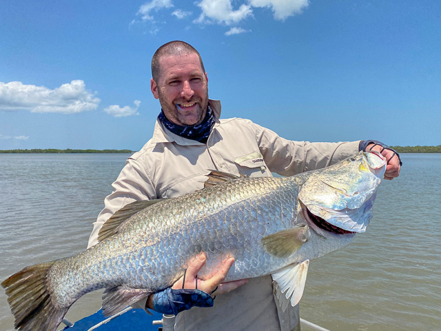 Ciaran O'Shea, 107cm, Tiwi Islands, NT 12/11/2019